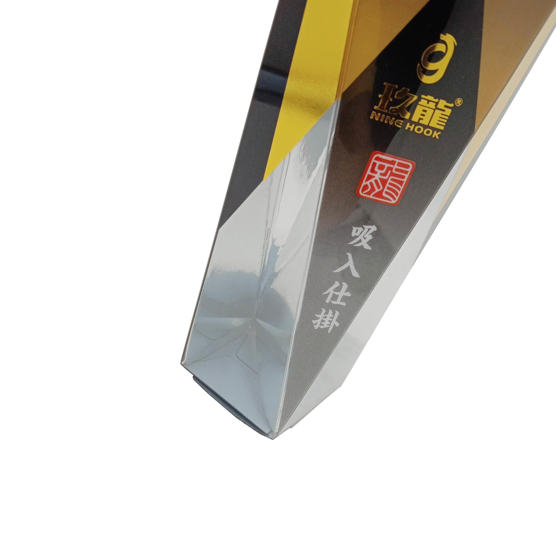 Irregular PET Plastic Custom Packaging with Hanger Hole
