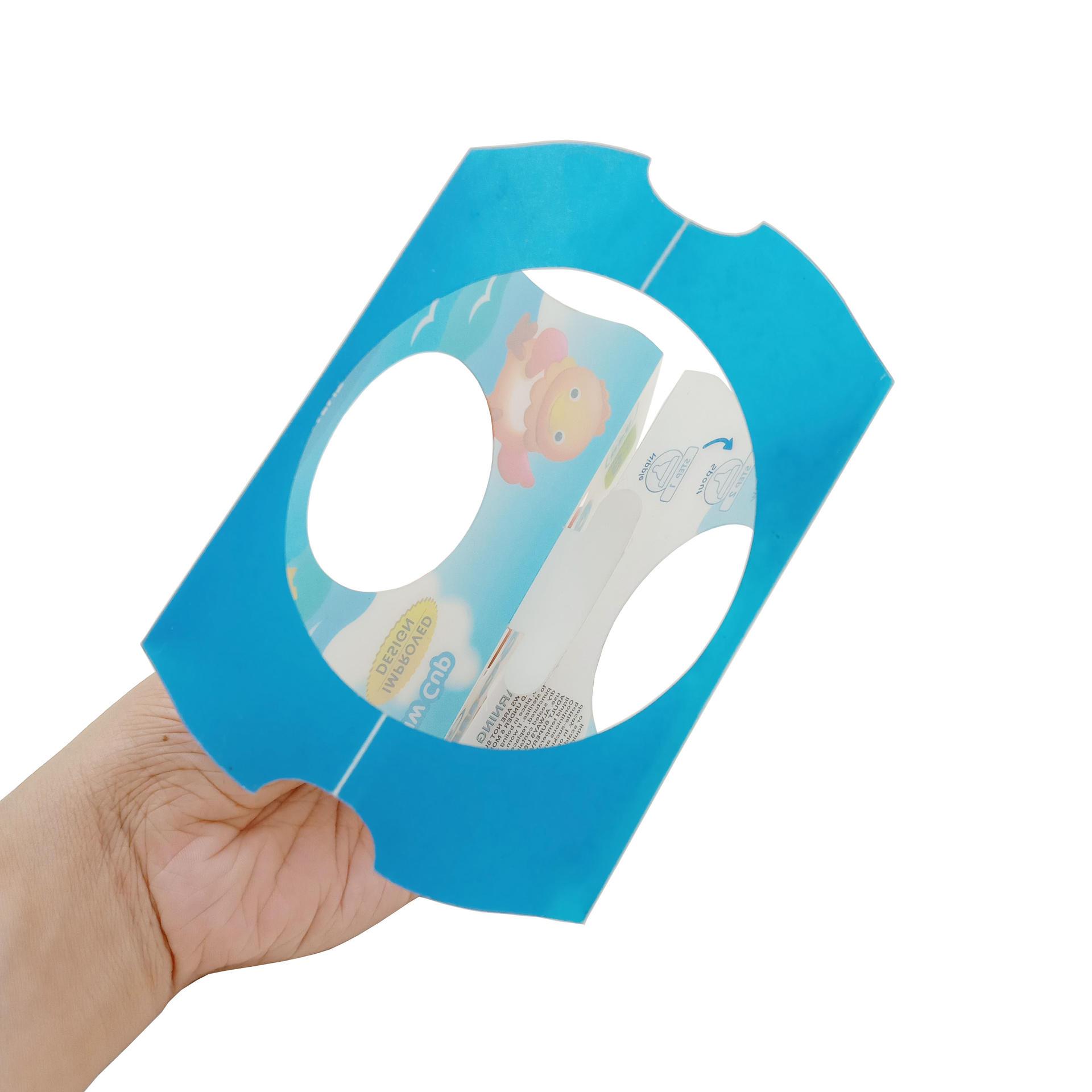 Matte PP Plastic Hanger Packaging Sheet