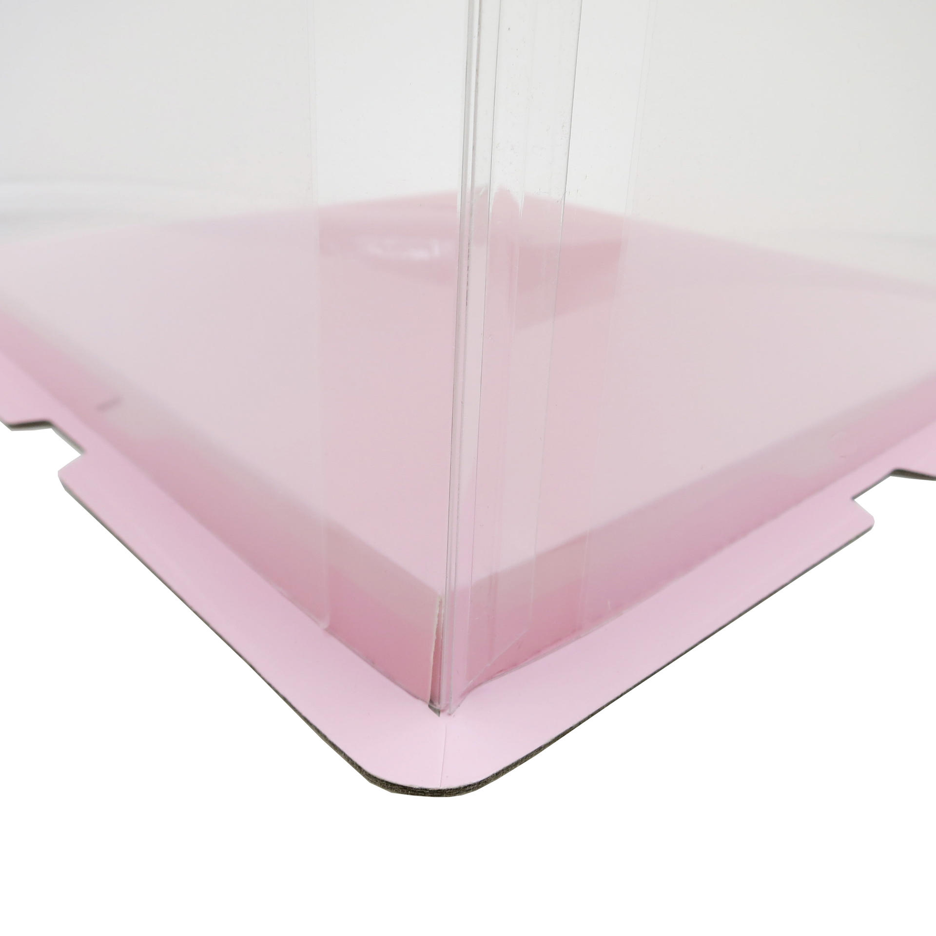 6 Inches Cake PET Food Grade Plastic Clear Cake Box