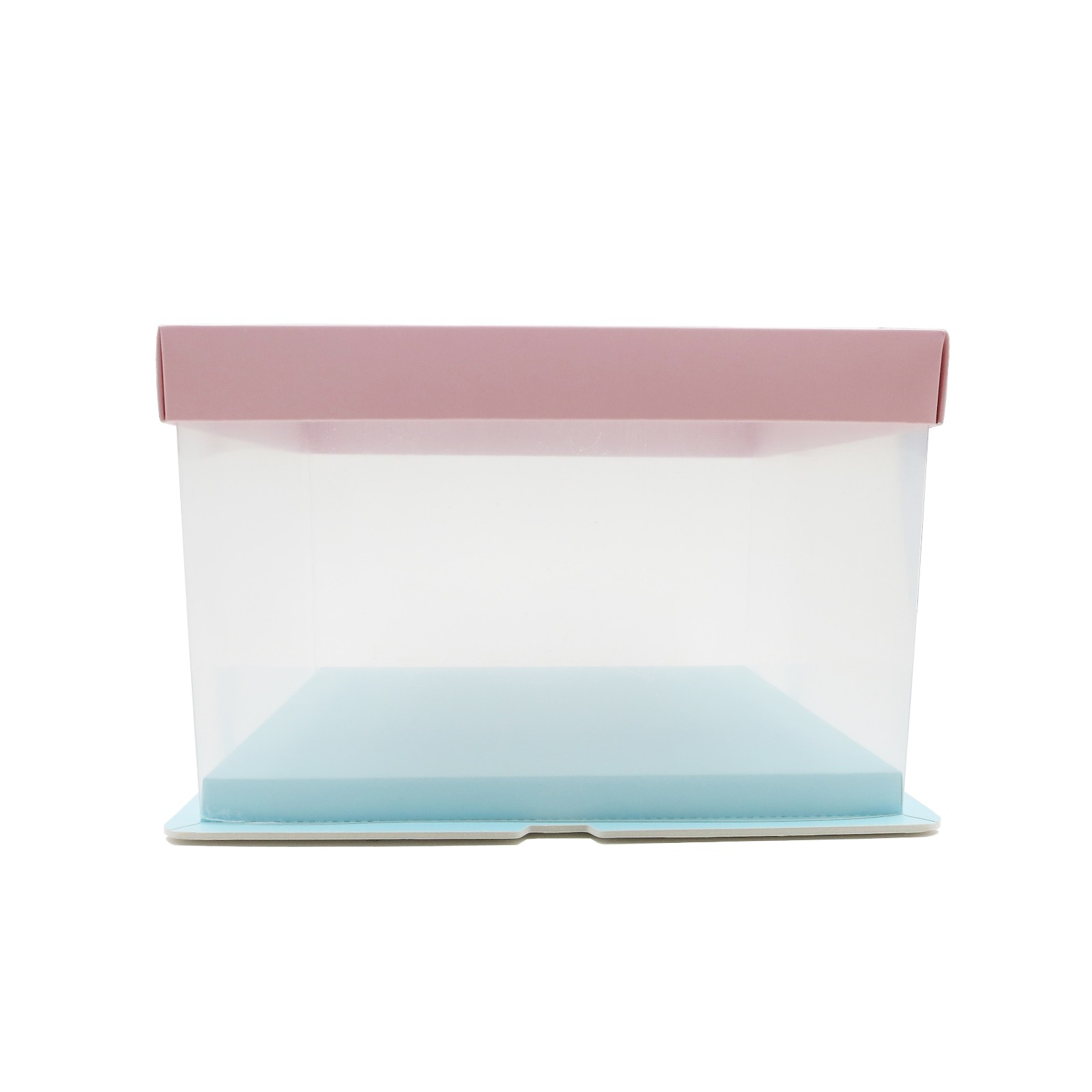 retail clear plastic packaging cake Certified for decor-2