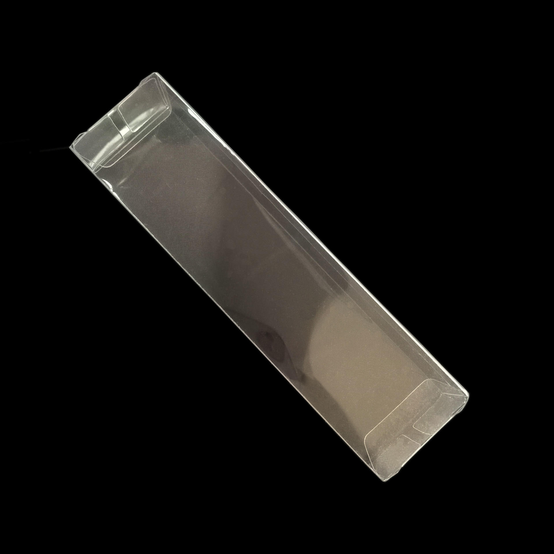 Transparent Vinyl Box Rectangle PVC Folded Plastic Box
