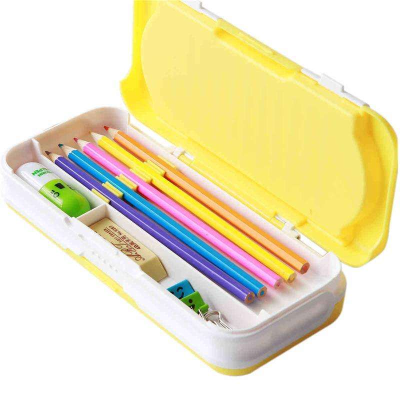 Radio Frequency(RF crease) PVC Plastic Lock-Bottom Packaging for Pencil Case