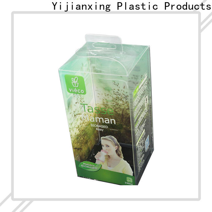 clear pet rectangle container package soft China Factory for packing