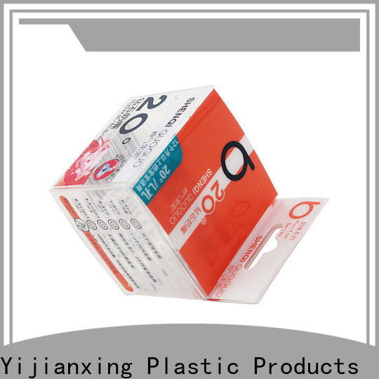 Yijianxing Plastic Products tackles candle box packaging for wholesale for gift