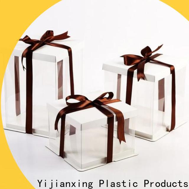 Yijianxing Plastic Products threedimensional clear plastic packaging widely-use for gift