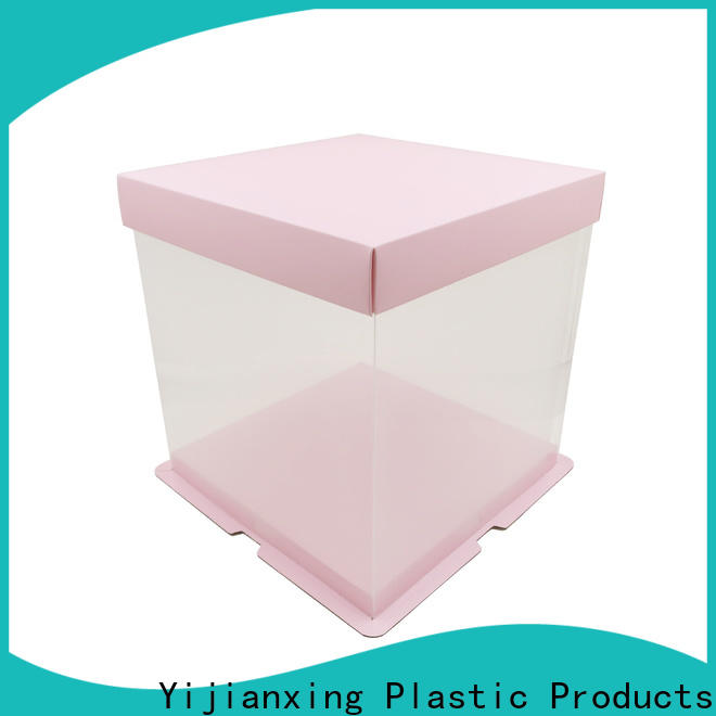 Yijianxing Plastic Products printing plastic box packaging widely-use for candy