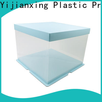 Yijianxing Plastic Products matte plastic box packaging free design for candy