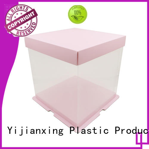 Yijianxing Plastic Products printing plastic box packaging order now for packing