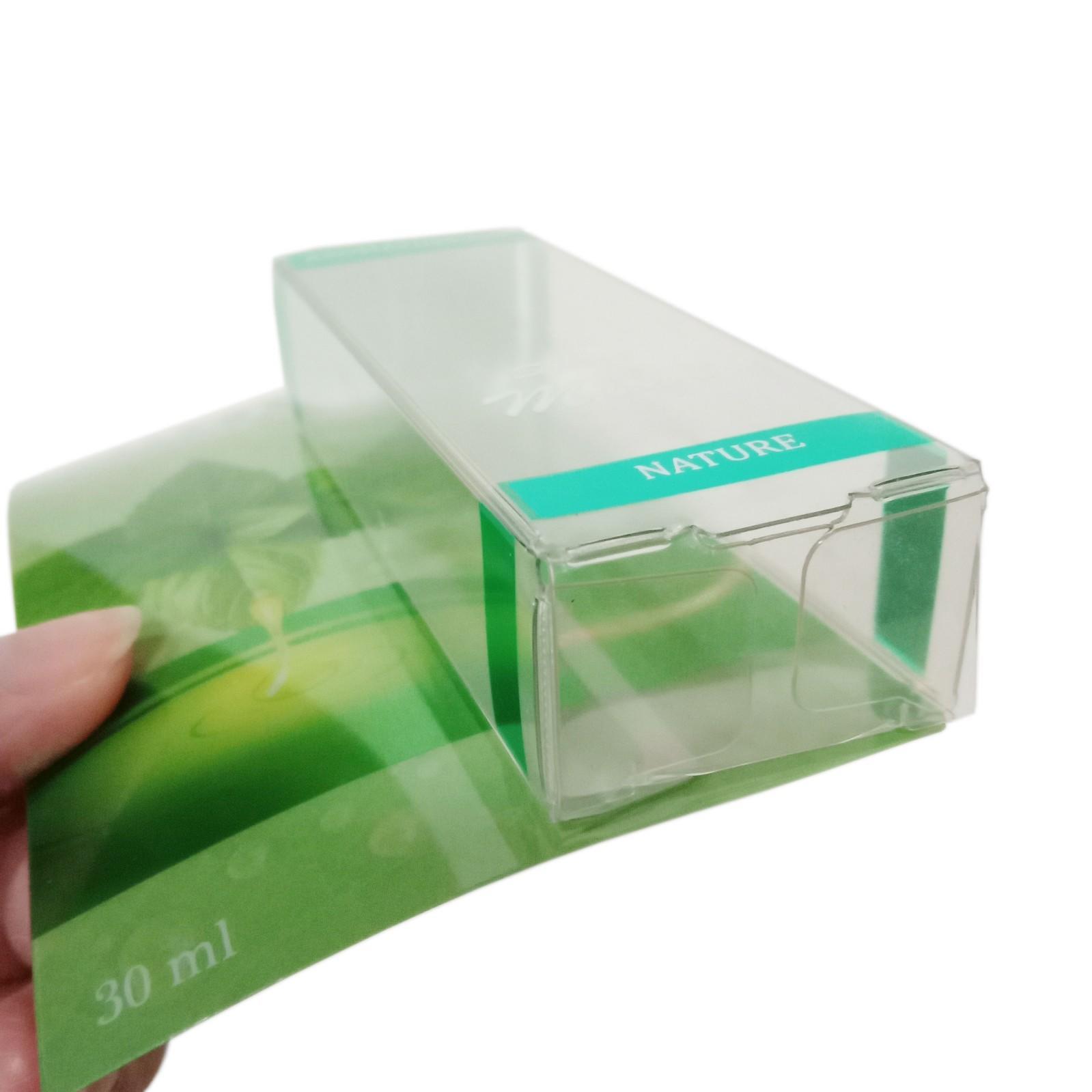 Common Lip Balm Plastic RF Crease Box with Plastic Card-3