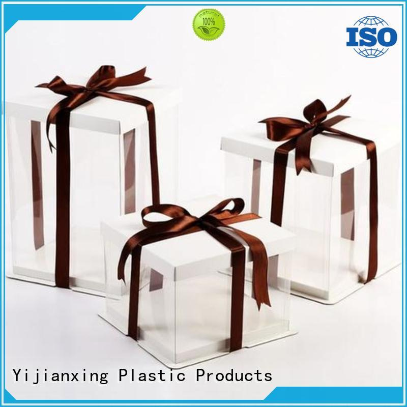 Yijianxing Plastic Products reasonable plastic box packaging for wholesale for food