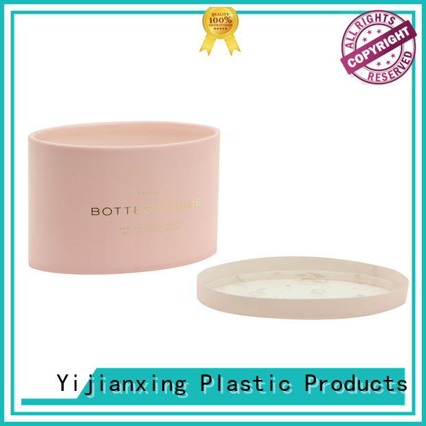 clear plastic tubes with end caps cosmetic cylinder Yijianxing Plastic Products Brand