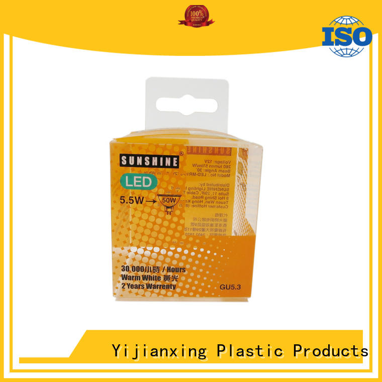 Yijianxing Plastic Products electronicscomputer clear plastic box packaging for wholesale for packing