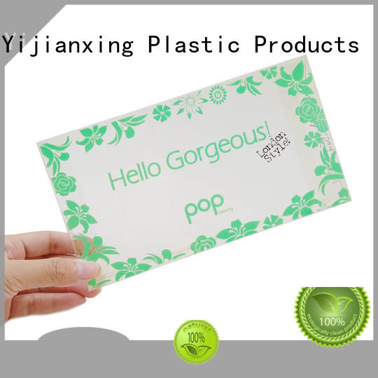 Yijianxing Plastic Products printing pvc packaging logo for food