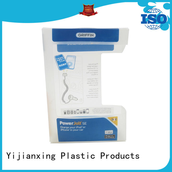 Yijianxing Plastic Products standup small clear plastic boxes wholesale China Factory for cups
