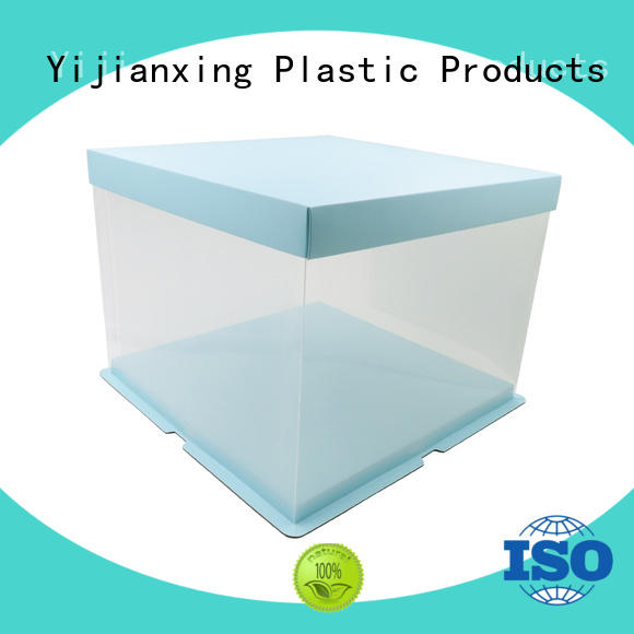 Yijianxing Plastic Products logo plastic box packaging free quote for gifts