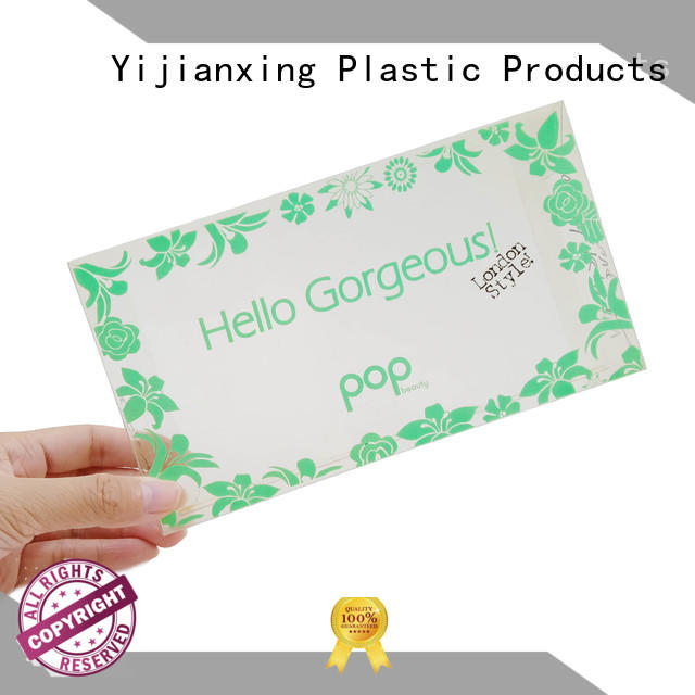 Spring Theme Printing PVC Plastic Box Neat Cosmetic Packaging