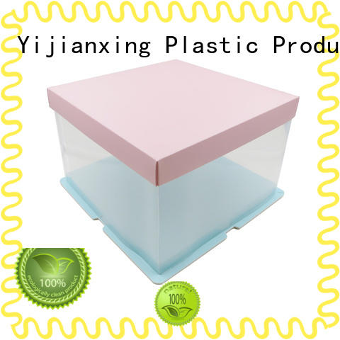 Yijianxing Plastic Products clear plastic box packaging widely-use for candy