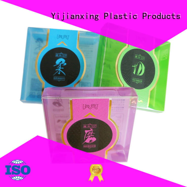 plastic box packaging autolock for decor Yijianxing Plastic Products