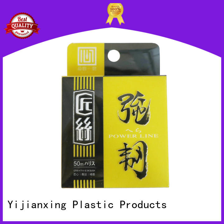 Yijianxing Plastic Products bottom plastic box packaging bulk production for cups
