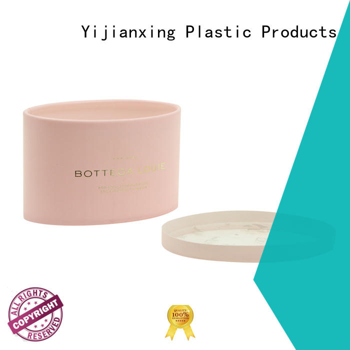 Quality Yijianxing Plastic Products Brand pink plastic tube packaging