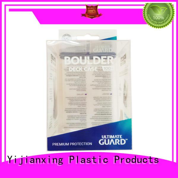 Printed PET Plastic Box with Hanger