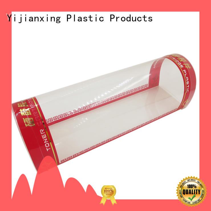 cosmetic plastic box packaging free quote for cups Yijianxing Plastic Products