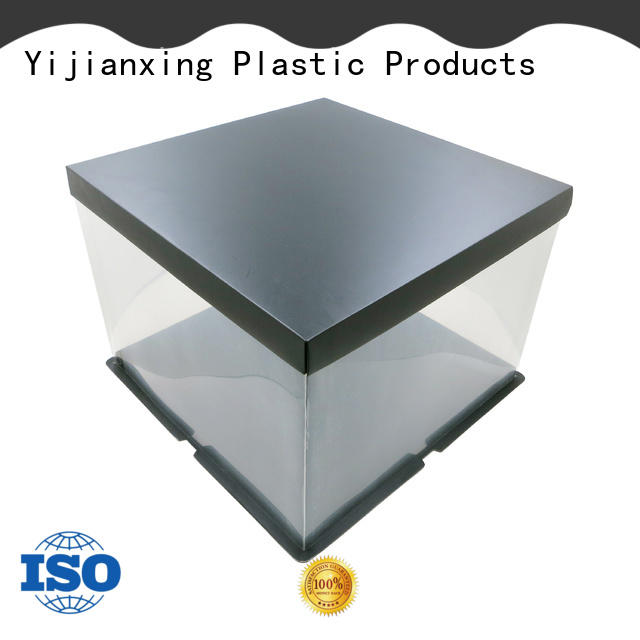 Yijianxing Plastic Products plate clear plastic square case by Chinese manufaturer for decor