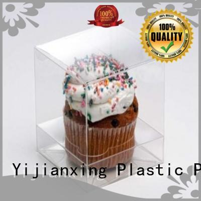 Yijianxing Plastic Products safety printed plastic box packaging color for decor