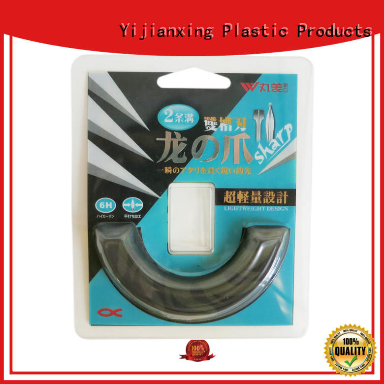 Yijianxing Plastic Products newly clear pvc plastic boxes long-term-use for cups