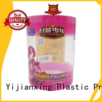 Yijianxing Plastic Products good-package printing plastic tube packaging for wholesale for small gift
