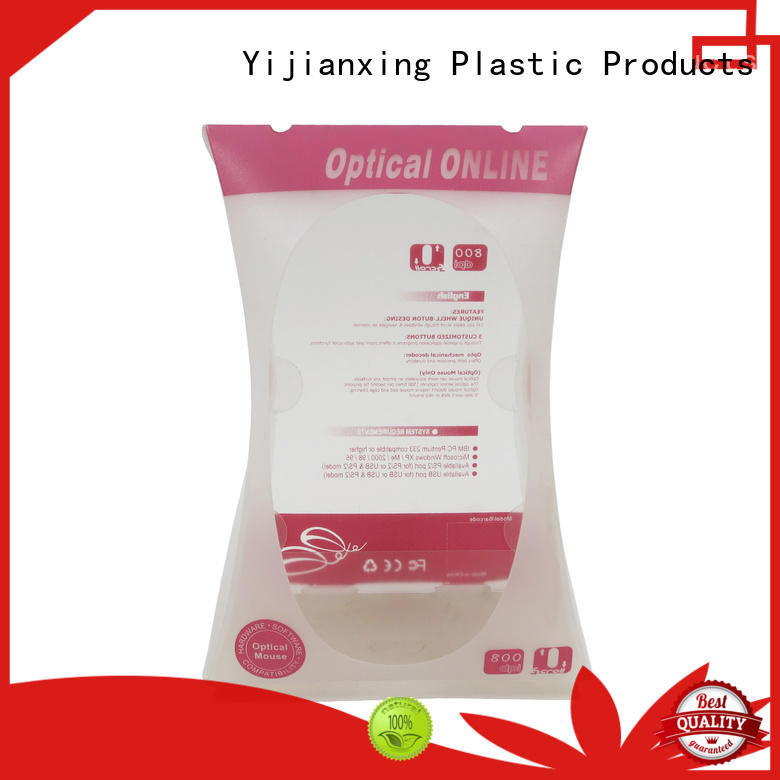 large pvc packaging folding for candy Yijianxing Plastic Products