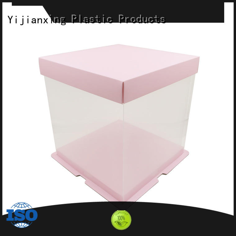 Yijianxing Plastic Products boxcontainer biodegradable plastic box packaging with Quiet Stable Motor for product packaging