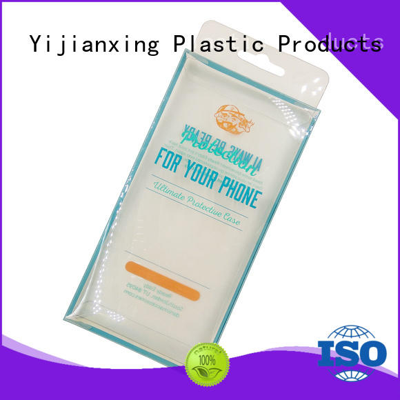 Yijianxing Plastic Products printing plastic box packaging widely-use for decor