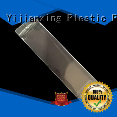 Transparent Vinyl Box Rectangle PVC Folded Plastic Box