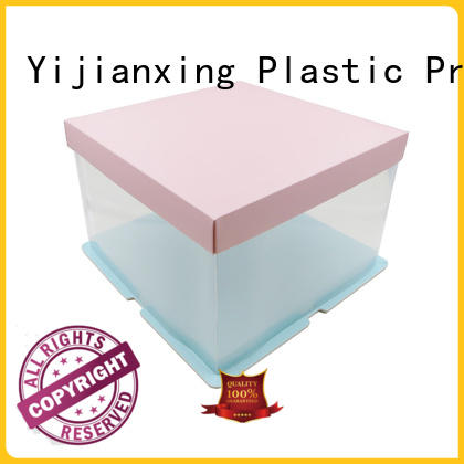 matte plastic box packaging widely-use for food