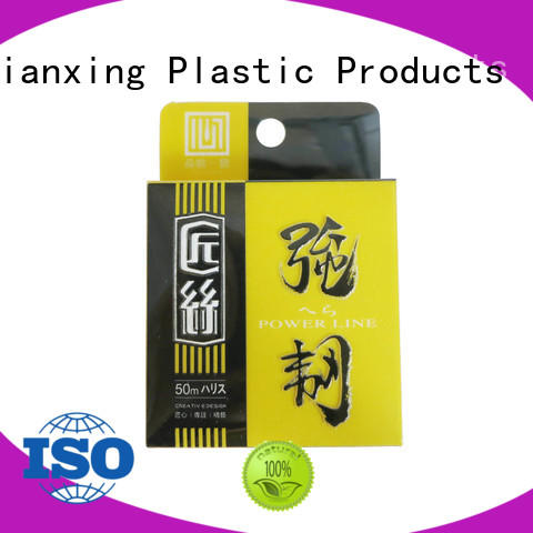 pvc packaging lock for gifts Yijianxing Plastic Products