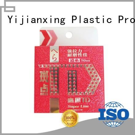 Yijianxing Plastic Products handling plastic box packaging bulk production for gifts