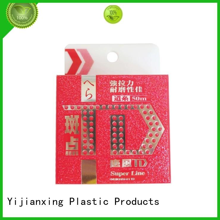power plastic box packaging bulk production for decor Yijianxing Plastic Products