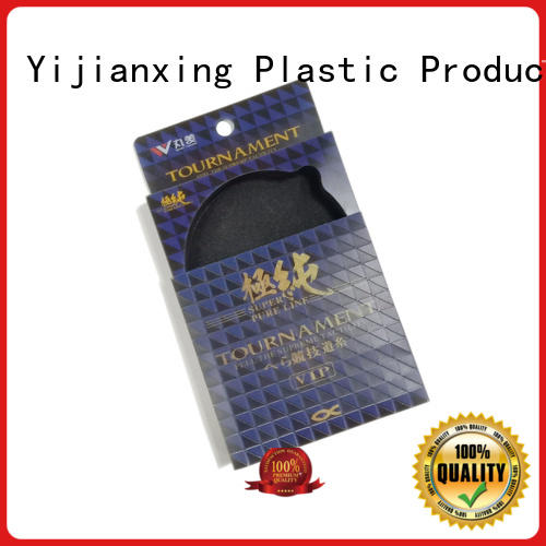 pvc packaging end for packing Yijianxing Plastic Products