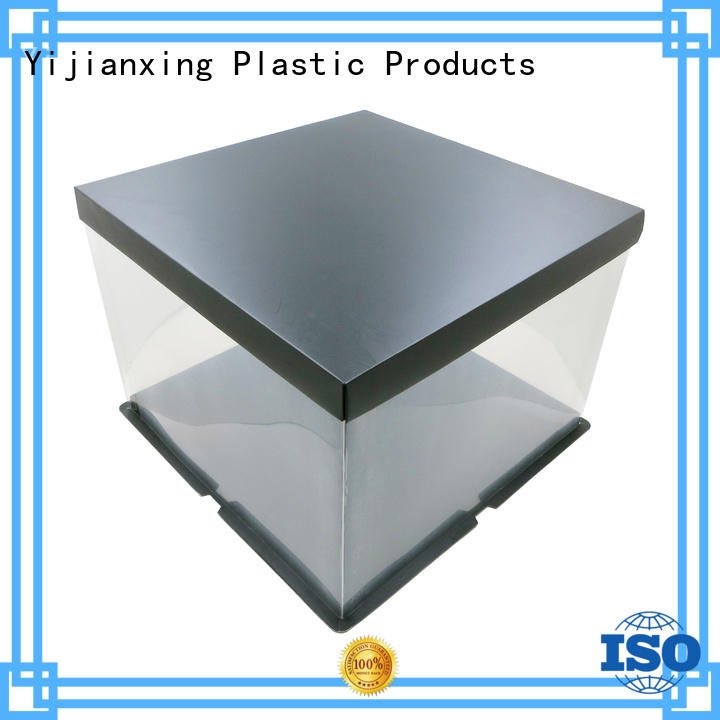 Yijianxing Plastic Products clear plastic box packaging whanger for food