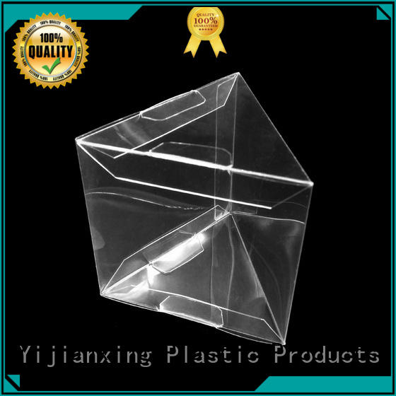 Small Pyramid Transparent PVC Plastic Triangle Packaging Box