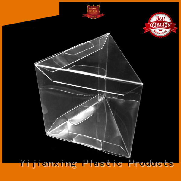 window plastic box packaging cap for packing Yijianxing Plastic Products