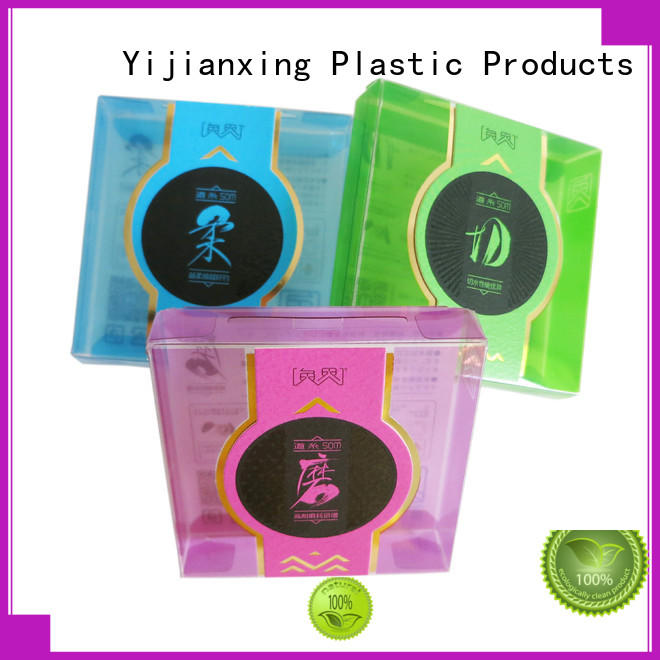 plastic box packaging embossing for food Yijianxing Plastic Products