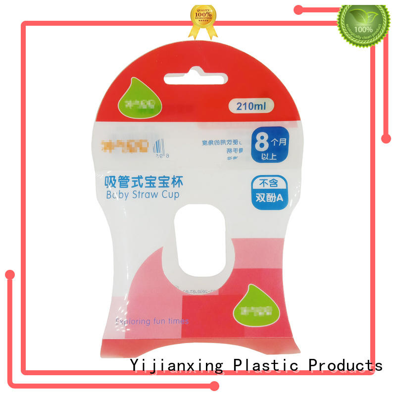 large pvc packaging at discount for packing Yijianxing Plastic Products