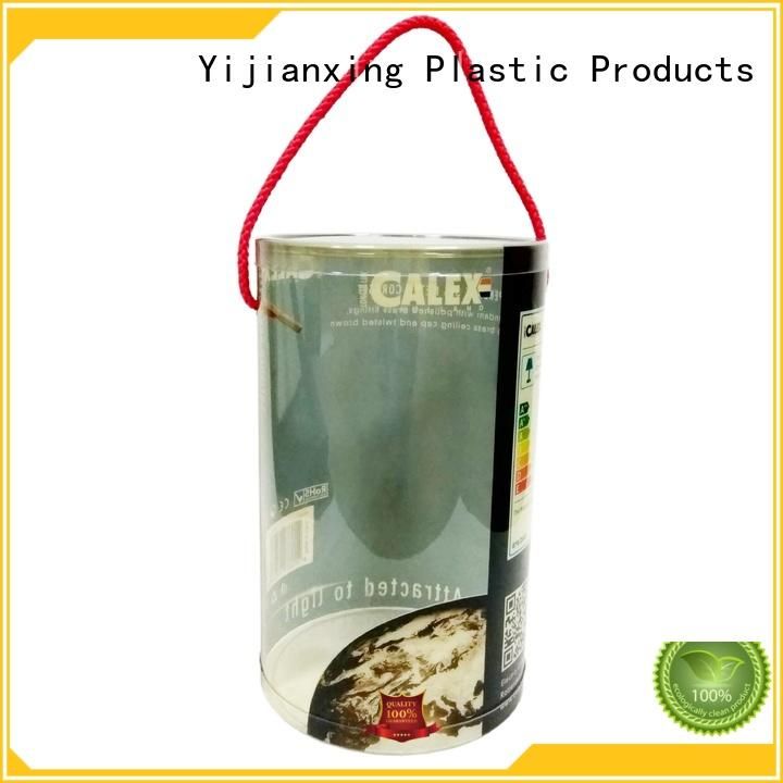 Yijianxing Plastic Products printing plastic box packaging customized for food