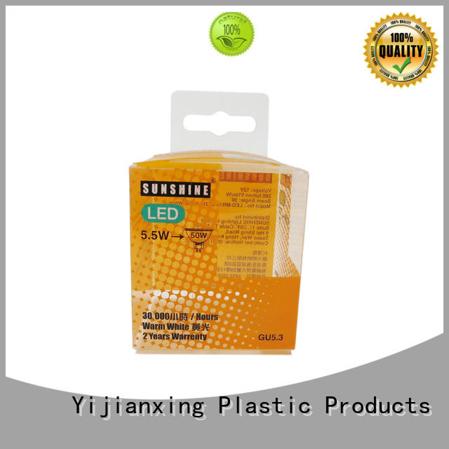 Yijianxing Plastic Products printing pvc packaging typical for packing