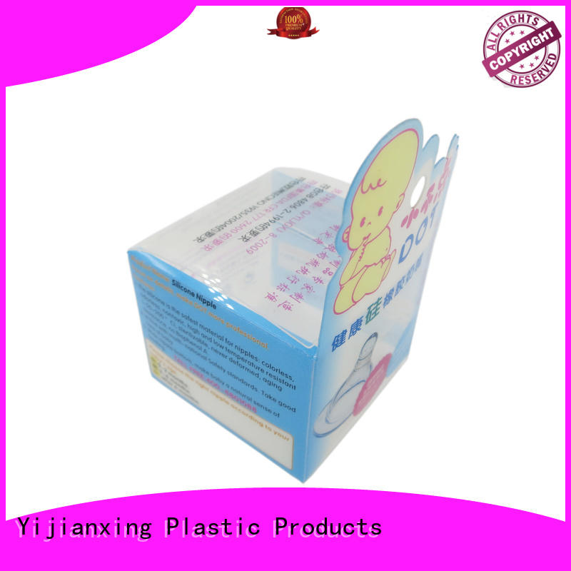 care plastic box packaging black for cups Yijianxing Plastic Products