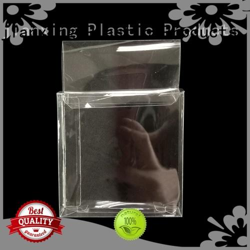 Crystal Clear PVC Plastic Box Retail Packaging