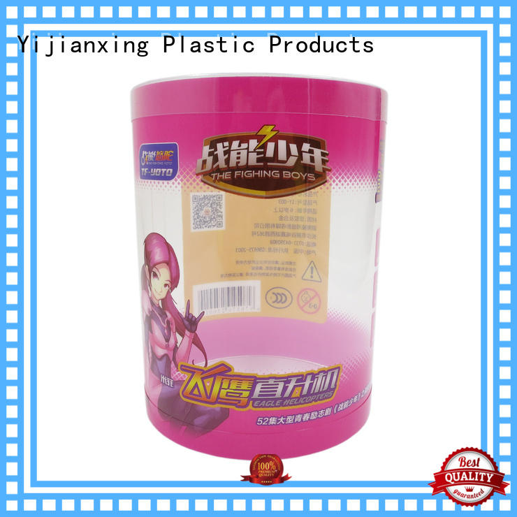 Yijianxing Plastic Products clear pvc packaging bulk production for decor