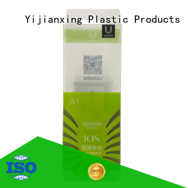 Yijianxing Plastic Products hanger plastic box packaging long-term-use for cups